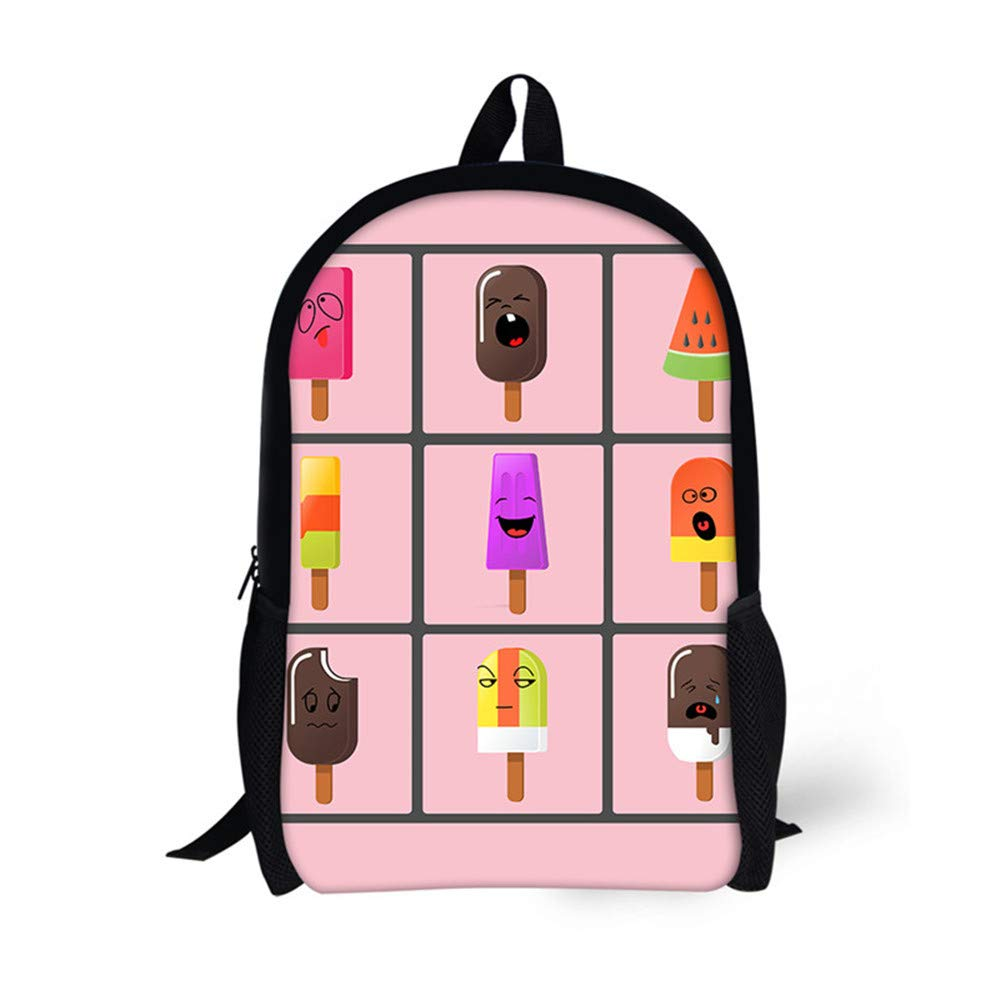 Stylish Printing Customized Backpack Bookbag For Kids