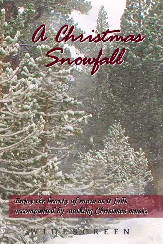 (A Christmas Snowfall - enjoy a white Christmas wherever you live along with your favorite Christmas carols, turns your TV into art)