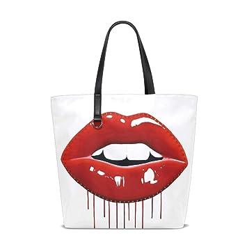 Amazon.com: Pop Art Bolso de labios bolso bolso de mano para ...