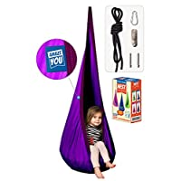 AMAZEYOU Kids Swing Hammock Pod Chair - Child