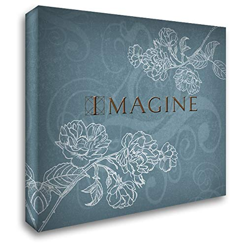 Imagine 20x20 Gallery Wrapped Stretched Canvas Art by Tanner, Jan