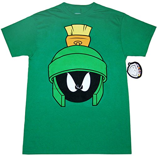 Looney Tunes Character Face T-Shirt (Marvin The Martian,