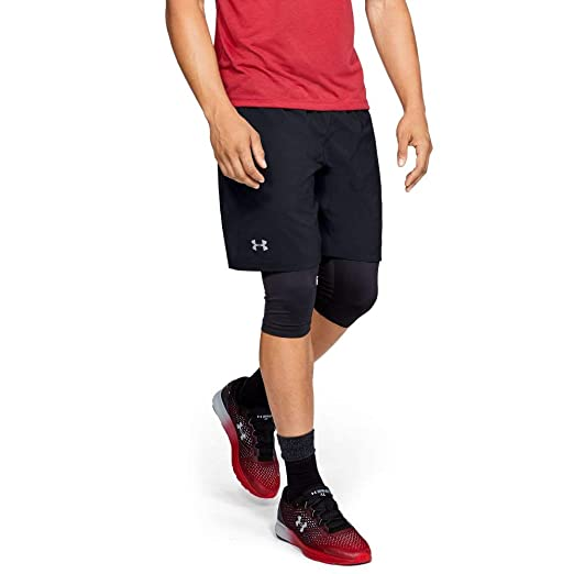 35c1f5162 Amazon.com : Under Armour Men's Launch SW 2-in-1 Long Shorts : Clothing