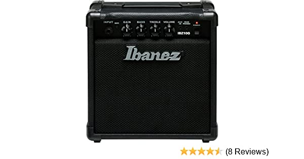 Amazon.com: Ibanez 1 Electric Guitar Mini Amplifier, Black (IBZ10G): Musical Instruments