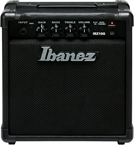 (Ibanez, 1 Electric Guitar Mini Amplifier, Black (IBZ10G) )