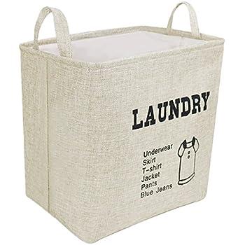 laundry basket linen laundry hamper bag collapsible u0026 convenient home storage bins waterproof
