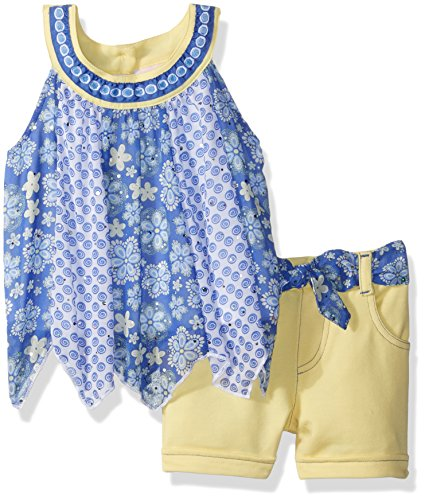 little-lass-toddler-girls-2-pc-handkerchief-hem-short-set-yellow-4t