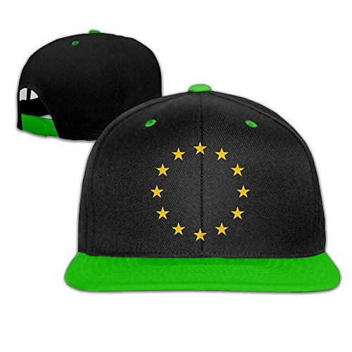 MaNeg Flag Of Europe Unisex Hip Hop Baseball - Prada Clothing Uk