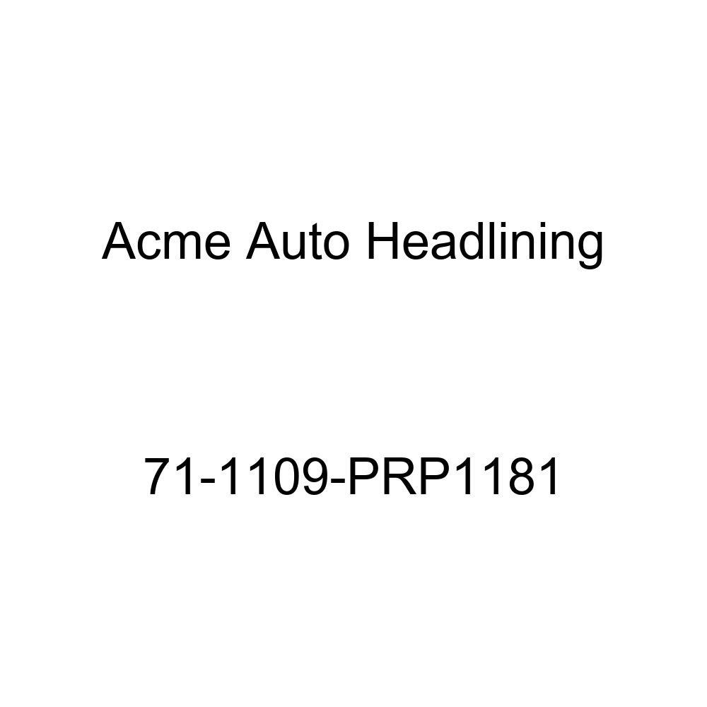 5 Bow Acme Auto Headlining 71-1109-PRP1181 White Replacement Headliner 1971 Buick Centurion 2 Door Hardtop