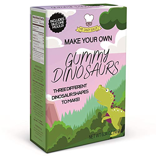 Make Your Own Gummy Dinosaur Kits with mold, pack of 4