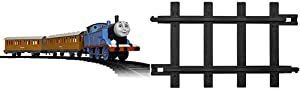 Lionel Thomas & Friends Battery-Powered Train Set with Remote + 12-Piece Straight Track Expansion Pack