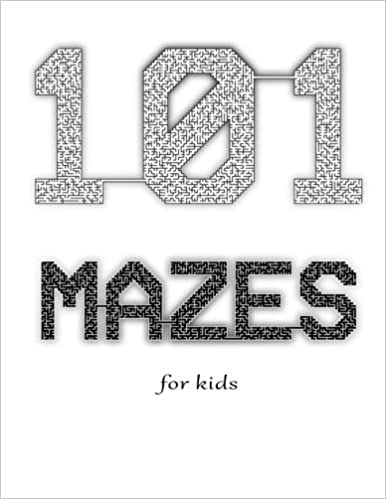 picture about Printable Mazes for Kids titled 101 Mazes for Little ones (101 Printable Mazes for Little ones) (Total 1