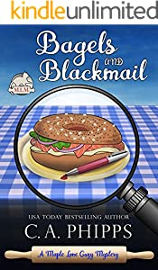 Bagels and Blackmail (Maple Lane Mysteries Book 2)