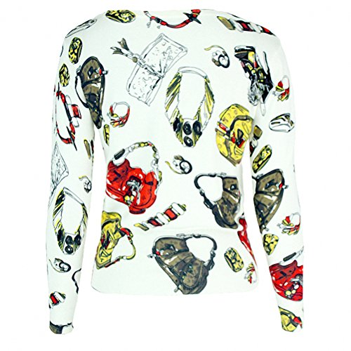 Luomme™ Damen Strick Short Cardigan One Size (EU Größe XS-M) Color-62