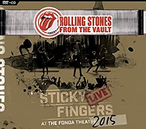 From The Vault: Sticky Fingers Live at The Fonda Theatre 2015 (DVD/CD)