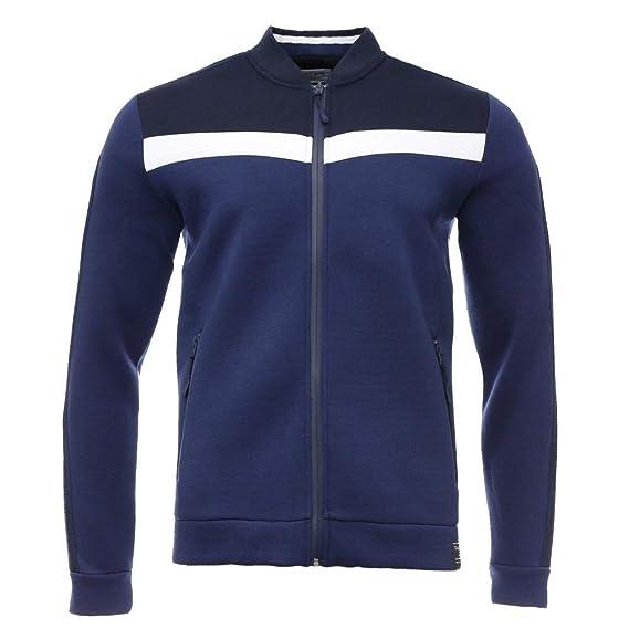 Beau design grande variété de styles sensation de confort Teddy Smith Sweat zippé néoprène Marine Homme Galio: Amazon ...