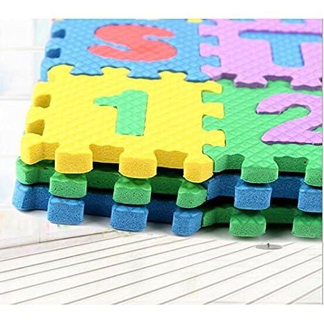 36PCS Baby Kids Alphanumeric Educational Puzzle Foam Mats Blocks Toy Gift 3-D Puzzles