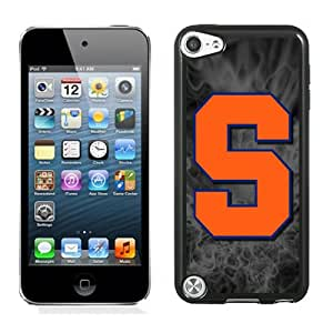Beautiful And Popular Designed With NCAA Atlantic Coast Conference ACC Footballl Syracuse Orange 4 Protective Cell Phone Hardshell Cover Case For iPod 5 Phone Case Black