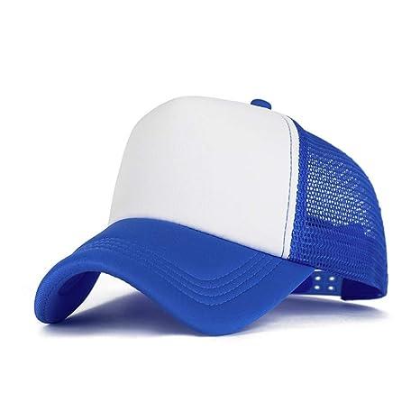 WOFDDH Gorra De Beisbol,Moda Unisex Malla Baseball Hat Gorra De ...