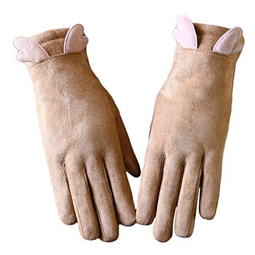 los pantalla ultrafinas t con Puntos suaves estudiantes guantes Plus y Paquetes Winter Warm y Alas Beanie bufanda Velvet de w6xTRqAS4z