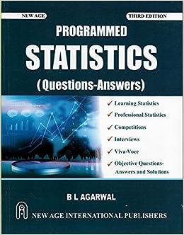 Programmed Statistics (Question-Answers): 9789386070937: Amazon com