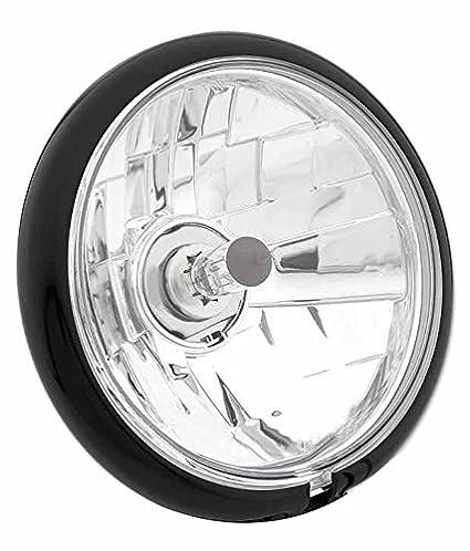 Motopart Bike Round Headlight Assembly Bajaj Pulsar 150 Type 1
