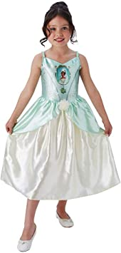 Kinderkostüm Rubies Disney Prinzessin Kleid Belle Shimmer