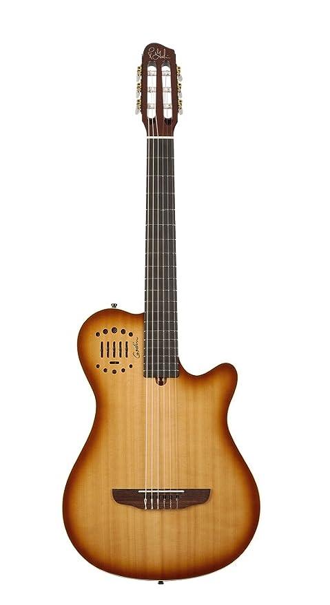 Godin multiac Grand, guitarra Duet ambiente (cuerdas de nailon guitarra electroacústica de concierto