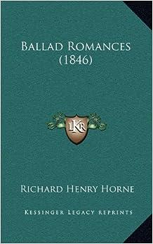Ballad Romances (1846)