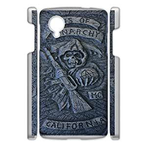 Google Nexus 5 Sons of Anarchy pattern design Phone Case HSA1151379