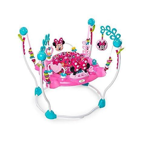 Disney Minnie Mouse Peekaboo Actividad Jumper con baterías ...