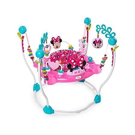 Disney Minnie Mouse Peekaboo Actividad Jumper con baterías: Amazon ...