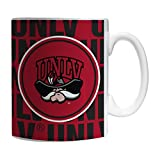 Boelter Brands NCAA UNLV Rebels Sculpted Bold Mug, 11-ounce