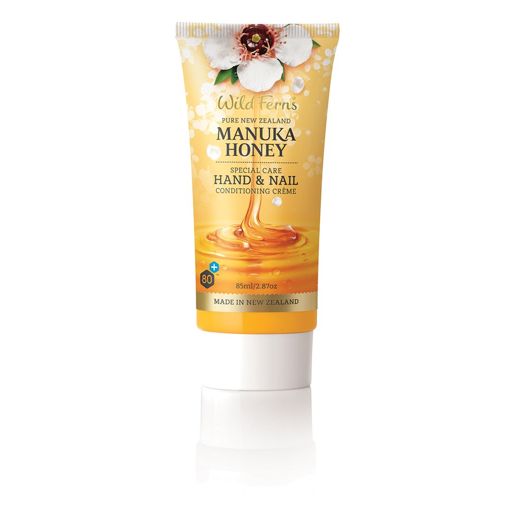 Wild Ferns New Zealand Manuka Honey Hand and Nail Cream