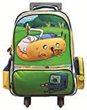 Adventure Time Finn and Jake 3D rolling Backpack