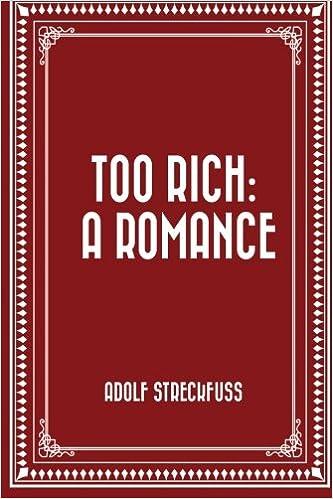 Too Rich A Romance