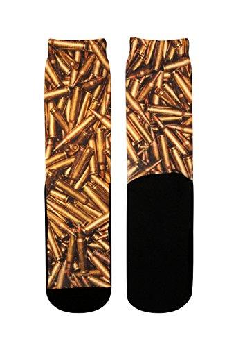 (Custom Elite Socks Gold Art Stance Athletic Sport Gift)