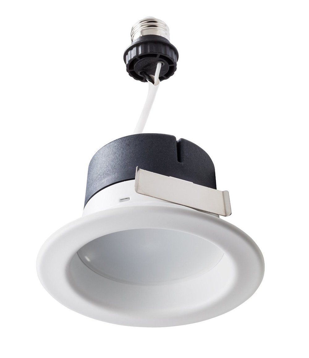 Philips 801258 50W Equivalent Dimmable Daylight LED Downlight, 4''