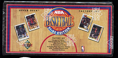 1991-92 Upper Deck Basketball Card Complete Box Set Micha...