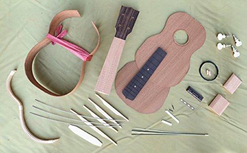 hosco-uk-kit-5-soprano-ukulele-assembly-kit-made-of-mahogany-japan-import