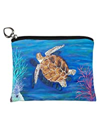 Change Purse, Vegan Coin Purse - Animals - From My Original Paintings