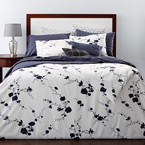 Vera Wang Washed Ink Queen Full Duvet Cover Set