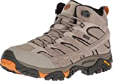 Merrell Men's Moab 2 Mid Waterproof Hiking Boot (8.5 D(M) US, Brindle)