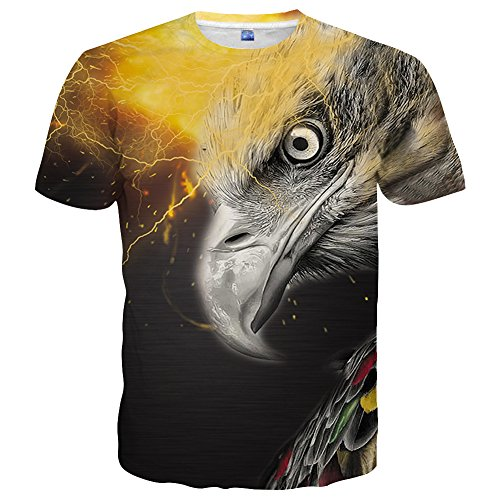 Eagle Print Tee - 9