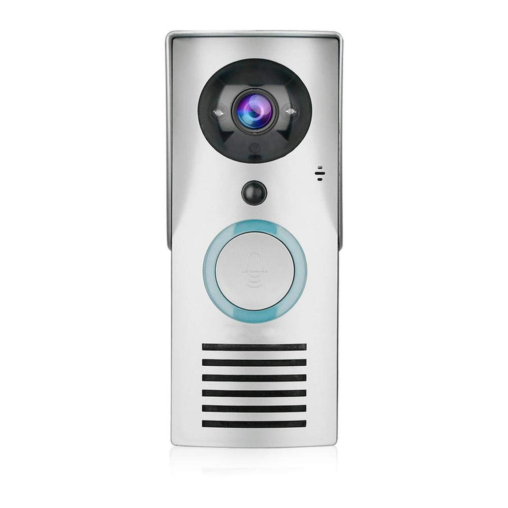 Smart 2.4G WiFi Türklingel HD 1080 X 720P Kamera Smart Guard & APP Live-View Infrarot Nachtsicht 180 Grad Weitwinkel