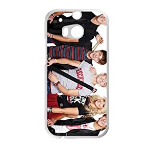 R5 Band White Phone Case For HTC M8