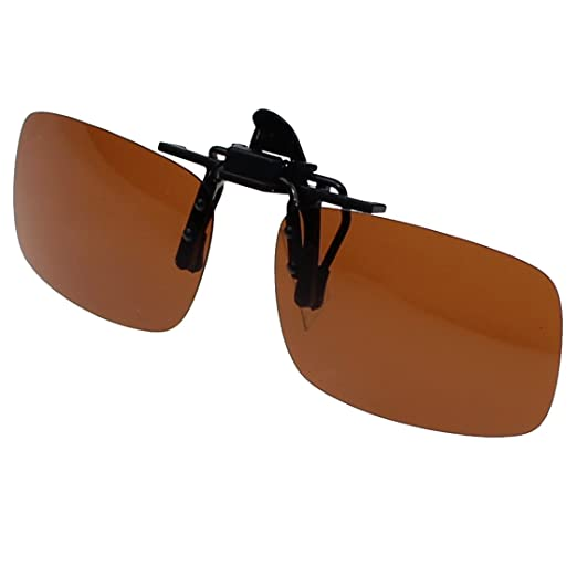 74f603edae Jaky Lightweight Polarized Clip-on Sunglass With Compact Flip Up Mount For Myopia  Glasses Anti