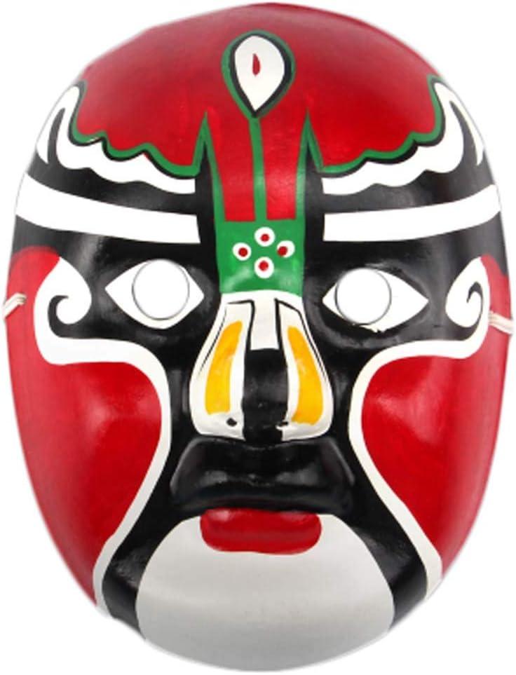 Black Temptation Producto Local Especial Ópera de Pekín Máscara Colección de Cultura Tradicional China Adorno Colgante # 01: Amazon.es: Juguetes y juegos