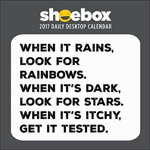 TF Publishing 2017 Shoebox Daily Desktop Calendar (17-3046)
