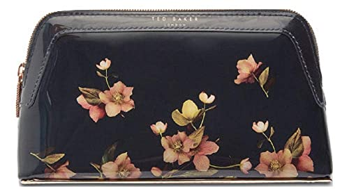 9354d415b Ted Baker Tycen Makeup Bag in Dark Blue Arboretum Floral Print ...